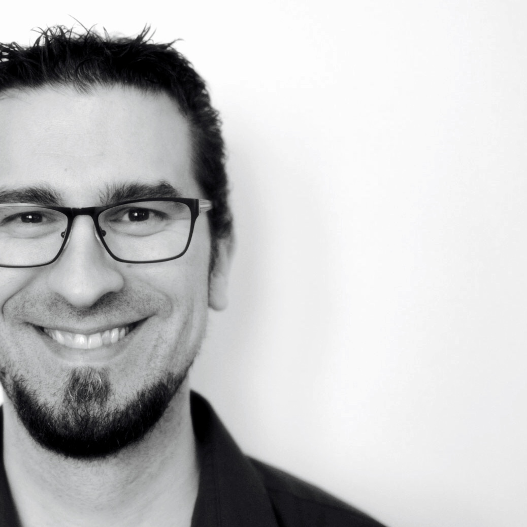Head shot (picture) of Rob Cherny, Front-end Architect and Web Developer.
